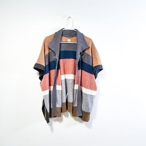 WILFRED Color Block Wool Cashmere Cardigan XXS